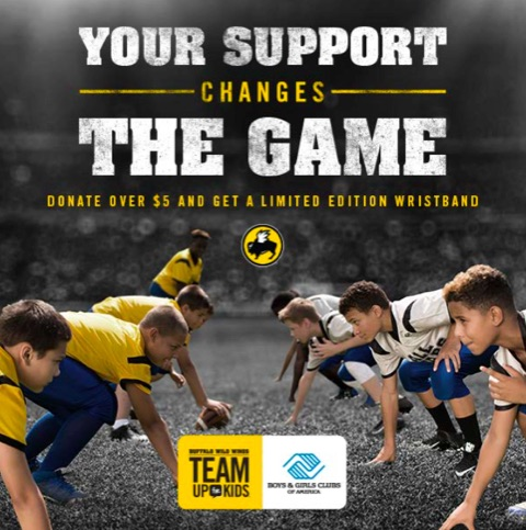 Buffalo Wild Wings Supports our ALL STARS
