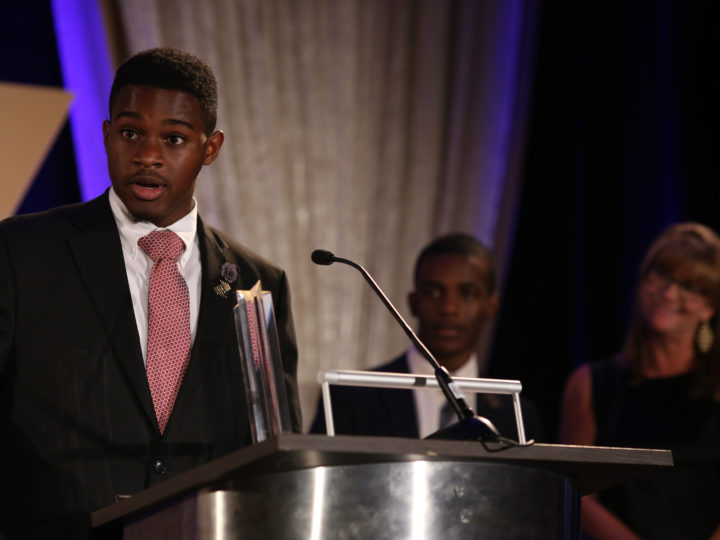 Sergio Wallace Delivers A Winning Youth of the Year Speech