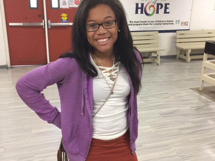Introducing…Our Jr. YOY candidate Jamia Perry