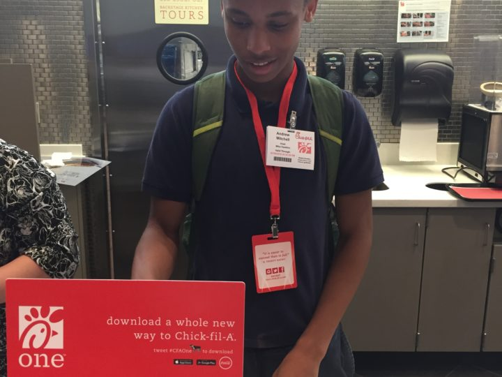 Newnan Teens Participate in CareerWise Wednesday at Chick-fil-A