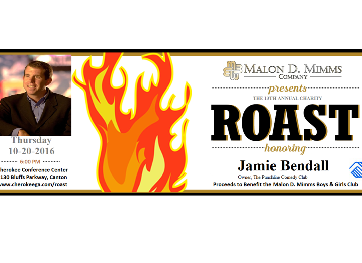 The 13th Annual Charity Roast Honoring Jamie Bendall