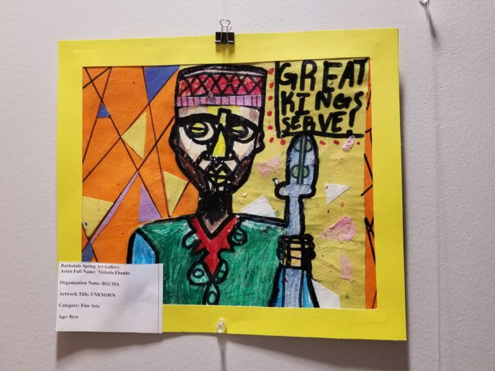 The Barksdale Spring Art Show was amazing!