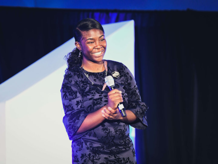 Kimberly Heard Wows Atlanta's Community Leaders with a Winning Youth of the Year Speech