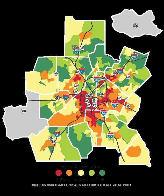 BGCMA Map