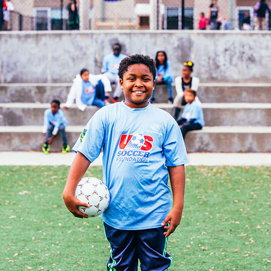 BGCMA soccer player
