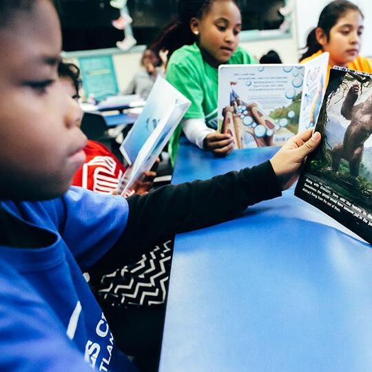 BGCMA kids reading