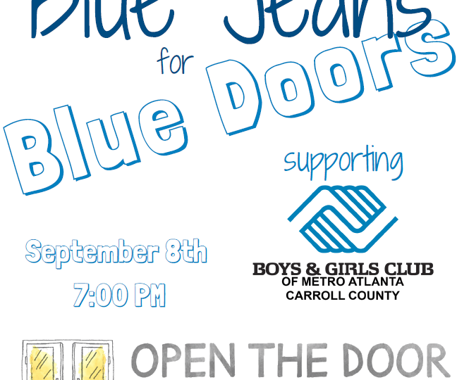 2018 Carroll County Blue Jeans for Blue Doors