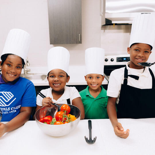 Boys & Girls Clubs of Metro Atlanta chef