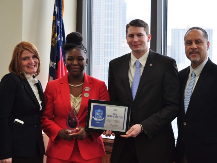 Kimberly Heard of Boys & Girls Clubs of Metro Atlanta Named 2020 Youth of the Year for Georgia