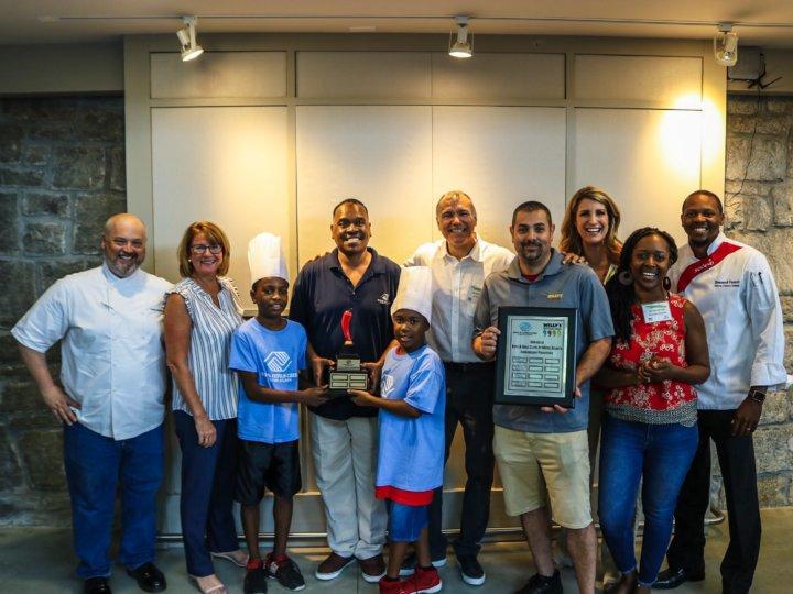 W. W. Woolfolk Club wins Salsa, Salsa 'Top Chef' award