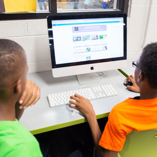 Boys & Girls Clubs of Metro Atlanta computer learning