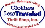 Thank you to Clothes Less Traveled Thrift Shop, Inc.